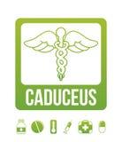 Caduceus Royalty Free Stock Photography