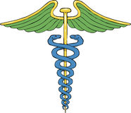 caduceus illustration de vecteur