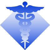 Caduceus/eps Royalty Free Stock Images