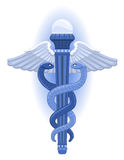 The Caduceus - Greek Symbol Stock Photos