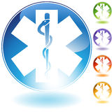 Caduceus Icon Royalty Free Stock Images