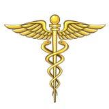 Caduceus. Illustration of the medical symbol, caduceus for your design needs royalty free illustration