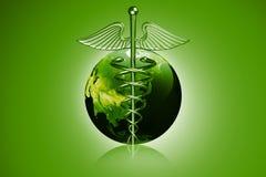Caduceus Medical Symbol Stock Photography
