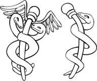 Caduceus Medical Symbol Royalty Free Stock Photos