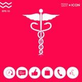 Caduceus medical symbol. Element for your design . Signs and symbols - graphic elements for your design Stock Photos