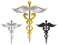 Caduceus Medical Symbol Illustration Royalty Free Stock Photography
