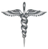 Caduceus Medical Symbol Royalty Free Stock Photo