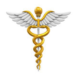 Caduceus Medical Symbol Royalty Free Stock Photos