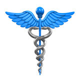 Caduceus Medical Symbol Stock Photography