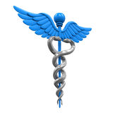 Caduceus Medical Symbol Stock Image