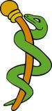 Caduceus Medical Symbol - Stylized royalty free illustration
