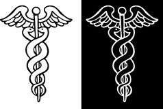 Caduceus Symbol Royalty Free Stock Photo