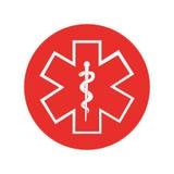 Caduceus symbol isolated icon Stock Photography