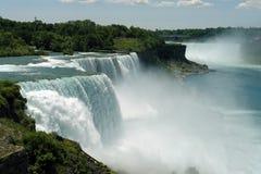 Caduta del Niagara Fotografia Stock