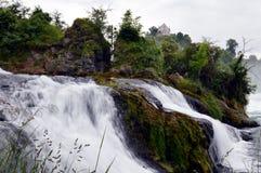 Caduta del Reno in Svizzera Immagine Stock Libera da Diritti