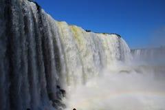 Caduta del ` s di Floriano nel parco nazionale delle cascate di Iguazu Fotografie Stock