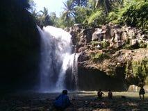 Caduta dell'acqua in Bali Immagini Stock