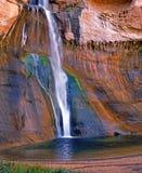 Caduta dell'acqua del deserto Fotografie Stock Libere da Diritti