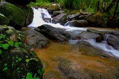 Caduta dell'acqua della Tailandia Fotografie Stock
