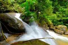 Caduta dell'acqua della Tailandia Fotografia Stock