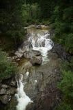 Caduta dell'acqua di Fallbach, Carinzia, Austria Fotografia Stock