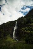 Caduta dell'acqua di Fallbach, Carinzia, Austria Immagine Stock