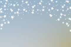 Caduta delle stelle royalty illustrazione gratis