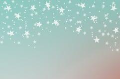Caduta delle stelle illustrazione vettoriale