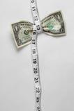 Caduta di compressione del dollaro alta Immagine Stock