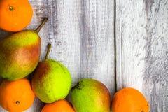 Caduta di legno della natura dell'alimento di autunno del mercato di frutta del fondo Immagini Stock Libere da Diritti