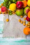 Caduta di legno della natura dell'alimento di autunno del mercato di frutta del fondo Fotografia Stock