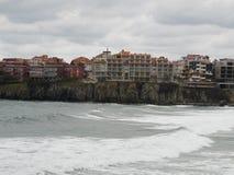 Caduta di Mar Nero Bulgaria fotografia stock libera da diritti