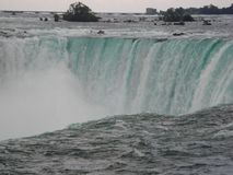 Caduta 2010 di Niagara: Nord America Fotografia Stock
