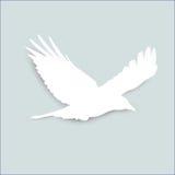 Caduta di origami dell'uccello sulla barra culla del ` s di Newton del modello Immagine Stock Libera da Diritti