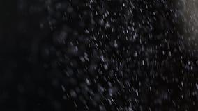 Caduta di particelle di polvere Fotografie Stock Libere da Diritti