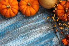 Caduta e fondo di Halloween Fotografie Stock