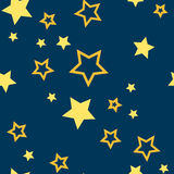 Caduta luminosa della stella Immagini Stock