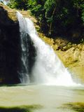 Caduta naturale del watter in Sri Lanka fotografia stock libera da diritti