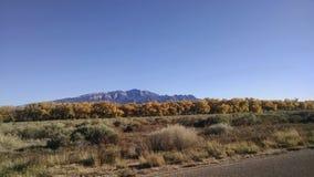 Caduta New Mexico Sandias Fotografie Stock Libere da Diritti