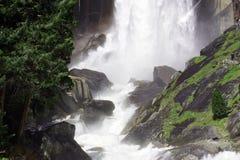 Caduta più bassa del Yosemite Fotografie Stock Libere da Diritti