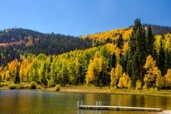 Caduta in Steamboat Springs Colorado Immagini Stock Libere da Diritti