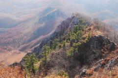 Caduta sulla cresta di Chandalaz Fotografia Stock