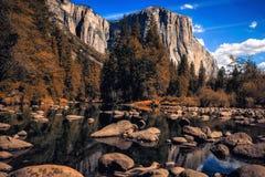 Caduta in Yosemite Immagini Stock Libere da Diritti