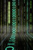 Cadute binarie Fotografia Stock