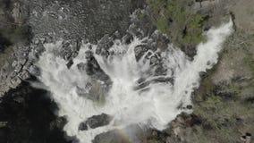 Cadute & Celestial Falls del fiume White 04 28 19 archivi video
