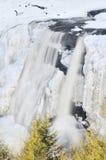 Cadute del Blackwater, WV, in inverno Fotografia Stock Libera da Diritti