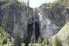 Cadute del fatato del parco nazionale di Yellowstone fotografia stock