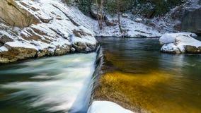 Cadute del fiume degli alci Fotografia Stock Libera da Diritti