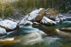 Cadute del fiume degli alci Immagini Stock Libere da Diritti