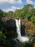 Cadute del Rainbow (grande isola, Hawai) 03 Fotografia Stock